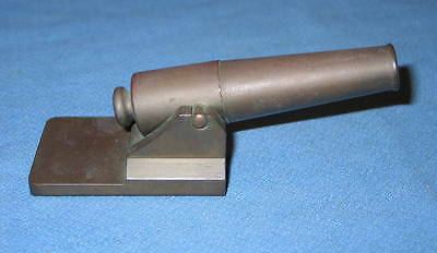 Machinist Hand Made Solid Brass Cannon Paperweight