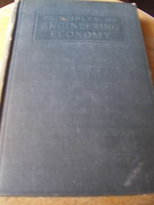 PRINCIPLES OF ENGINEERING ECONOMY WITH PROBLEMS by Eugene Grant