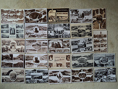 40 old B&W U.K. Multi-view PC's1929 onwards. Some posted, some RP. Good Cond.