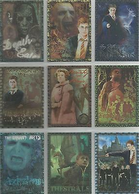 Harry Potter Order of the Phoenix - 9 Card Puzzle Chase Set #R1-9