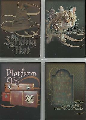 Harry Potter Chamber of Secrets - 4 Card Box-Topper Set #BT1-4