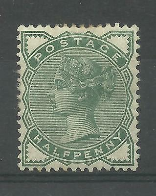 1880/1 Sg 164, 1/2d Deep Green with gum, Mounted Mint.