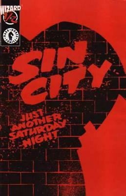 Sin City Just Another Saturday Night Wizard #1/2 Dark Horse Frank Miller (Movie)