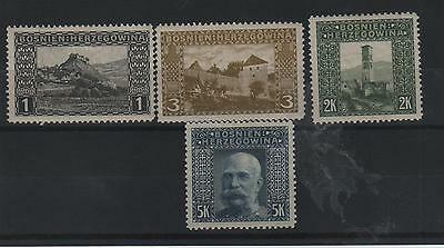 1906 -  'a'  Perf 12 1/2  -Values To 5K -  Mounted Mint