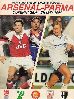 1994 Cup Winners Cup Final  Arsenal V Parma