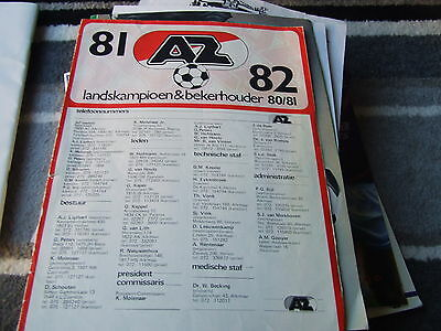 Az 81-2 Team Poster +Autographed By One