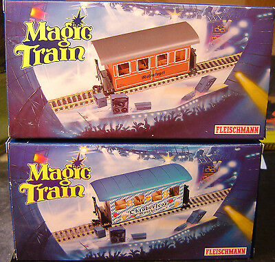 "Fleischmann Magic Train 0e 2314 / 2320 2-teiliges Personenwagenset ""Neu""(AND)"