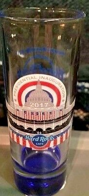 2017 Hard Rock Washington Dc Prez Elect Trump Inauguration Us Capitol Shot Glass
