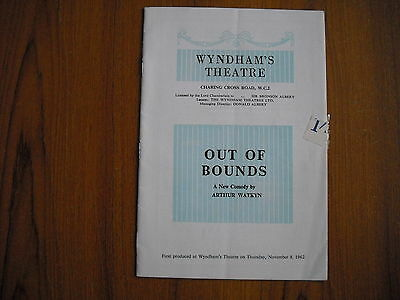Wyndham's Theatre, London - Out Of Bounds - 1962 - Michael Redgrave