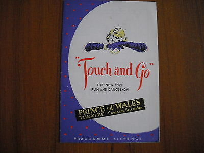 Prince Of Wales Theatre, London - Touch And Go - 1950