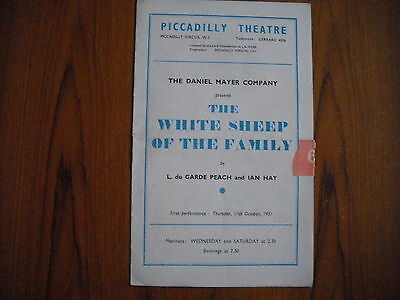 Piccadilly Theatre, London - The White Sheep Of The Family - 1951