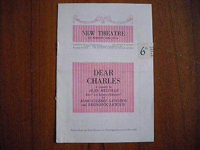 New Theatre, London - Dear Charles - 1952