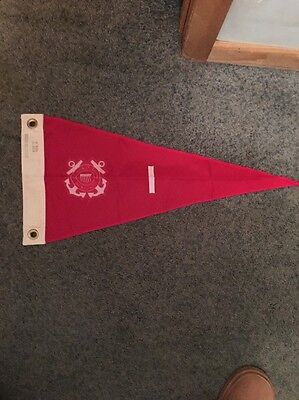 US Coast Guard Vice Captain Pennant Original