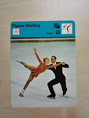 FIGURE SKATING - Pairs - Sportscaster Rencontre Card