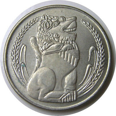 elf Singapore 1 Dollar 1969  Lion