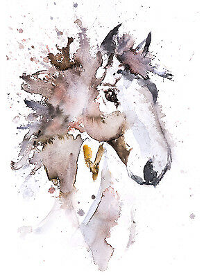 Horse No.3 - Signed limited Edition Print from original watercolour painting