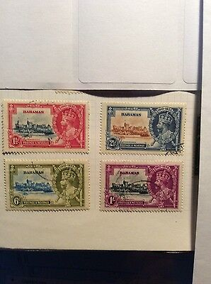 Stamps Bahamas  Silver Jubilee issue