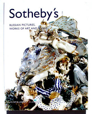 2007 RUSSIAN ART ICONS SOTHEBY'S AUCTION CATALOG book