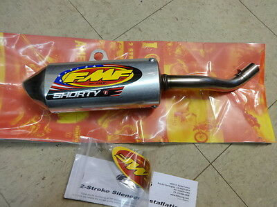 Yamaha Yz 125 1996 1997 1998 1999  Fmf Shorty Silencer Muffler