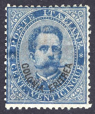 Eritrea 1892 25c Blue Scott 6, SG 6, MM/MH Cat $1350