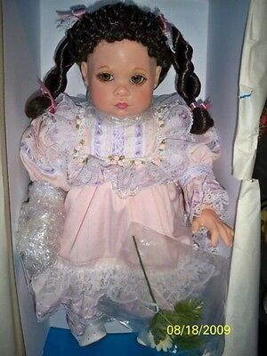 Kimberly 21-Inch Resin Doll Sweet Dreams Collection Mib Gorgeous Life-Like Doll