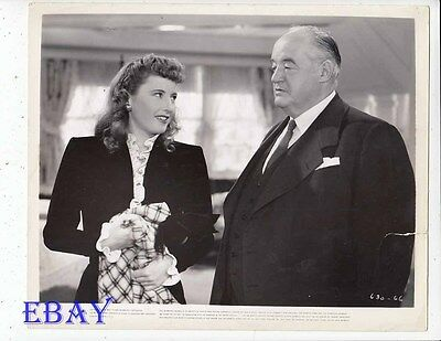 Barbara Stanwyck Christmas In Connecticut VINTAGE Photo