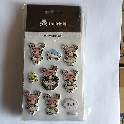 tokidoki Puffy Sticker - donutella