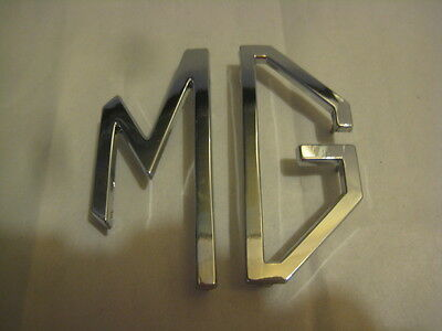 """MG Hood emblem Two peice MG letters badge Plastic leters for MG 4.5"""""""