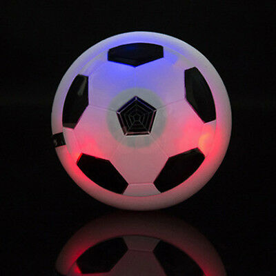 Kids Children Hover Fun Football Gift Indoor Soft Foam Floating Ball LED New