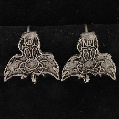 EARRINGS Sylvester Cat WARNER BROS LOONEY TUNES Silver FACE WB STORE 5135
