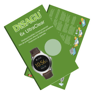 6x UltraClear Screen Protector for Fossil Q Founder 2.0