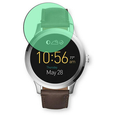 Golebo Screen Film for Privacy protection green for Fossil Q Founder 2.0