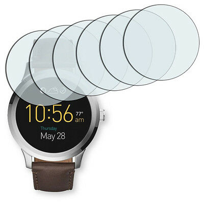 6x Golebo Crystal screen protector for Fossil Q Founder 2.0