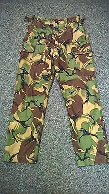 """RARE British Army Issue Combat Trousers 68 Pattern-size 1  3/4 lined 30"""" Waist"""