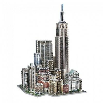 Puzzle 900 Teile - New York Midtown West - New York Collection (3D-Puzzle-Gebäud