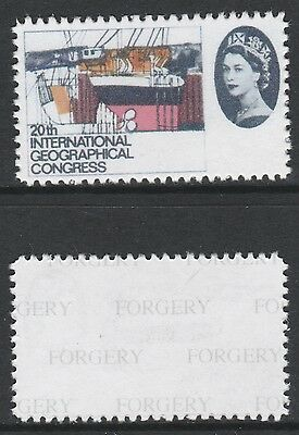 Great Britain (715) 1964 Geographical value missing -  a Maryland FORGERY unused