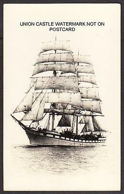 Postcard French Sailing Ship Barque Cambronne Built 1896 Torpedoed 1917 By U 72