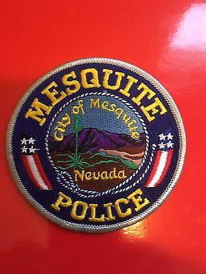 Mesquite Nevada Police  Shoulder Patch