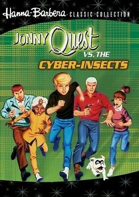 Jonny Quest vs. the Cyber Insects (2011, REGION 0 DVD New) DVD-R