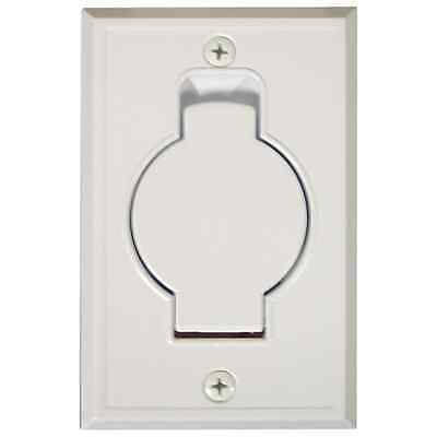 Central Vacuum Inlet Vac Hose Outlet WALL OUTLET VACUUM WHITE