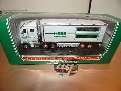 2013 Hess Mini Truck and Racers in Box