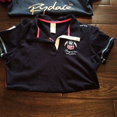 girls horse riding polo shirts SIZE XS