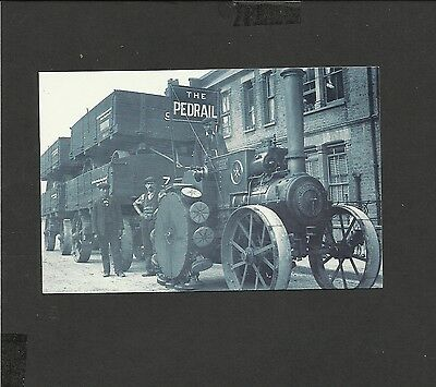 Nostalgia Postcard The Pedrail- Traction Engine 1911