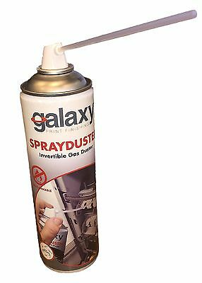 Premium Galaxy Invertible Gas Spray Air Duster (ideal for tight spaces machines)