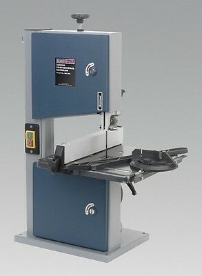 Sealey SM1303 Professional Bandsaw 200mm Woodworking Timber Band Saw Workshop
