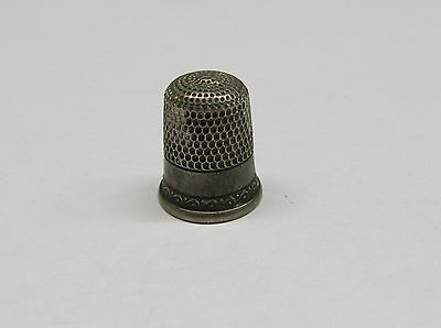 Vintage Sterling Silver #9 Thimble ~ 4.9 grams ~ 8-A893