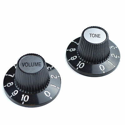 2 Witches Hat Volume & Tone Guitar Knobs for Gibson Epiphone