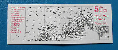 GB STAMP BOOKLET FB75 :: SEA CHARTS 4 – GIANT'S CAUSEWAY :: inc. pane Y1690L