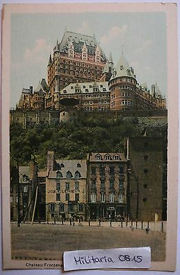 AK Ansichtskarte 1935 Chateu Frontenac from Lower Town, Quebec