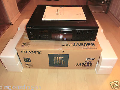 Sony MDS-JA50ES High-End MiniDisc Recorder, in OVP wie NEU, 2 Jahre Garantie